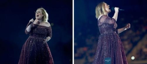 Adele esteve atuando na Nova Zelândia