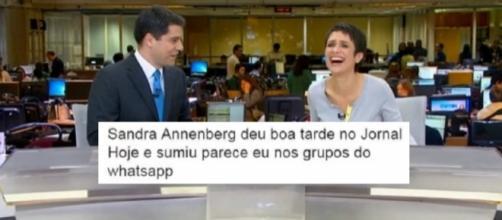 Evaristo e Sandra somem do ar e fãs fazem piadas com o fato