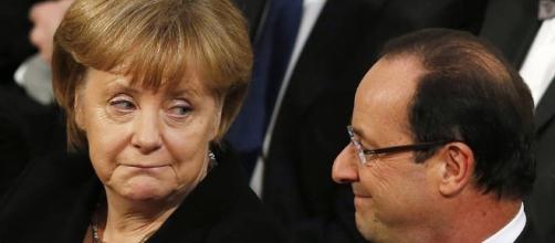 """Hollande et Merkel font part de leur """"préoccupation"""" - europe1.fr"""