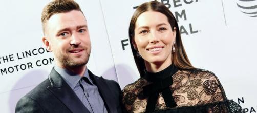 Justin Timberlake And Jessica Biel Couple Up At Tribeca Film ... - footwearnews.com