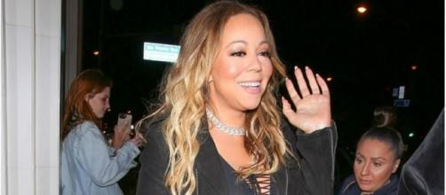 Mariah Carey mostrando sua beleza