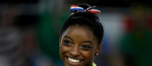 Simone Biles going into USA Gymnastics Hall of Fame - Photo: Blasting News Library - chron.com