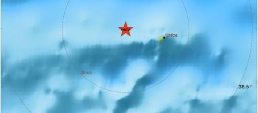 Terremoto nel Basso Tirreno, al largo di Ustica: magnitudo 3.5.