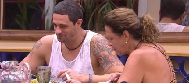 Daniel e Ieda são escolhidos para o Paredão de domingo (Foto: Reprodução/TV Globo)