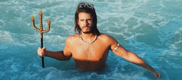 Davi Serio, o primeiro brasileiro que ganha a vida com essa fantasia. Foto: Arquivo pessoal/Davi Sereio