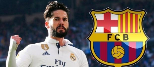 Isco irait-il jouer à barcelone ?