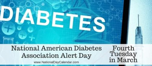 American Diabetes Alert Day - Photo: Blasting News Library - nationaldaycalendar.com