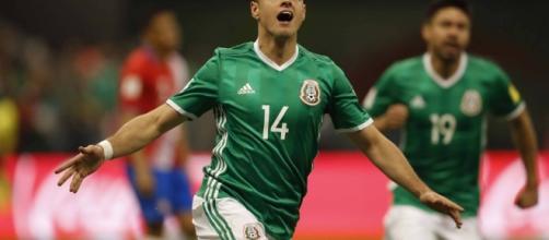 Chicharito equals Mexico goalscoring record - bundesliga.com - bundesliga.com