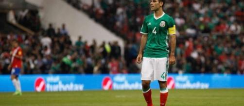 El capitán Rafael Márquez es baja en la visita del martes