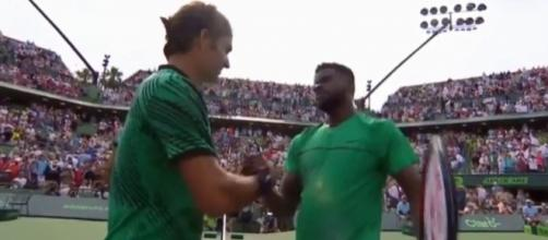 Federer and Tiafoe, Youtube, tran van ha channel https://www.youtube.com/watch?v=kpCsPp39ofI