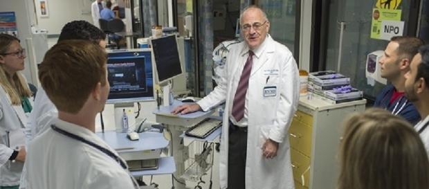 Dr Paual Marik in ICU sepsis VA Medical School