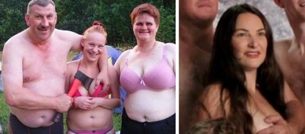 Fotos de famílias esquisitas acabam caindo e viralizando na internet
