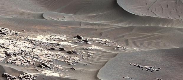 NASA's Curiosity Is Investigating Sand Dunes On Mars - capitalberg.com