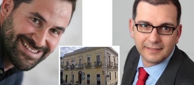 Piersanti Mazzarella e il candidato Sindaco Michele Gianni