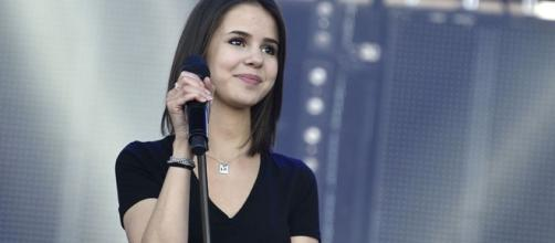 Avant de passer sur grand écran, Marina Kaye peaufine la préparation de son nouvel album. (programme-tv.net)