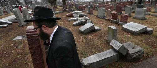 Dozens of headstones toppled at Jewish cemetery in Missouri ... - houstonchronicle.com