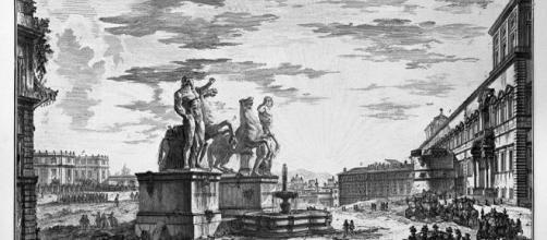 Fontana dei Dioscuri al Quirinale