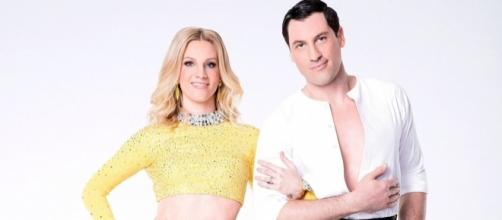 Heather Morris & Maksim Chmerkovskiy | 'Dancing With the Stars ... - usmagazine.com