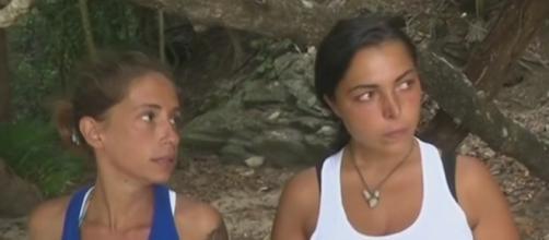 Isola dei Famosi 2017: il resoconto su Malena e Nancy dal day time