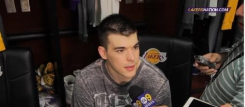 Ivica Zubac, Photo credit: YouTube screenshot