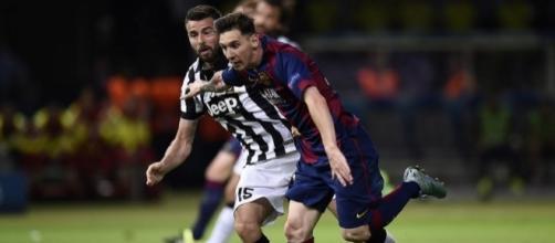Juve-Barcellona visibile su Canale 5?