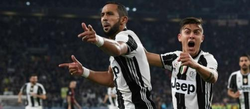 Medhi Benatia e Paulo Dybala, Juventus-Milan