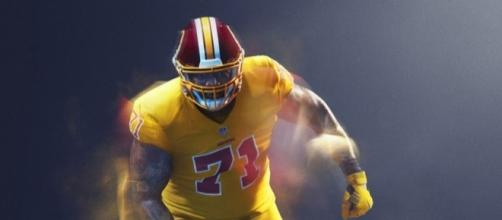 Redskins given all-yellow 'Color Rush' uniforms, but won't wear ... - richmond.com
