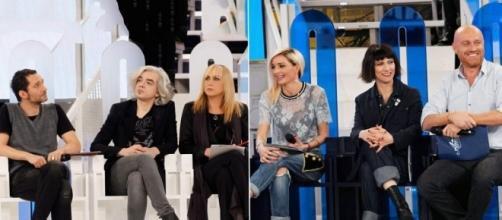 Serale Amici 2017: le reazioni dei bianchi e dei blu dopo la prima puntata