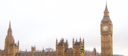 Suggestiva immagine della capitale britannica