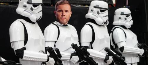 Take That, Luke! Gary Barlow to make unlikely appearance in Star Wars Episode VIII. Source - metro.co.uk