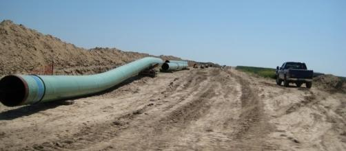 The Keystone Pipeline in Swanton, Nebraska / shannonpatrick17, Flickr CC BY-SA 2.0