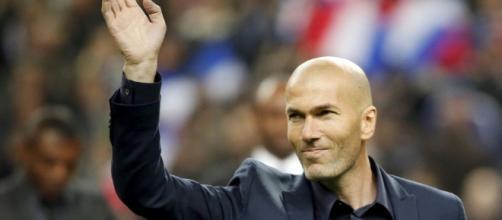 Zinédine Zidane entraîneur du Real Madrid