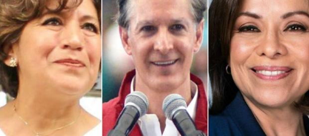 Defina Gómez, Alfredo del Mazo, Josefina Vázquez Mota