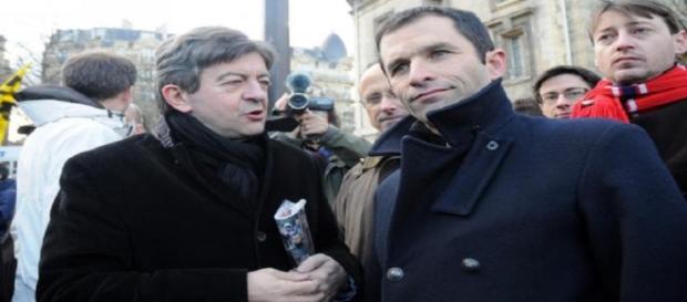 Jean-Luc Mélenchon et Benoit Hamon faisaient partie du même courant au PS