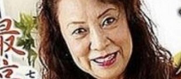 L'attrice giapponese Maori Tezuka