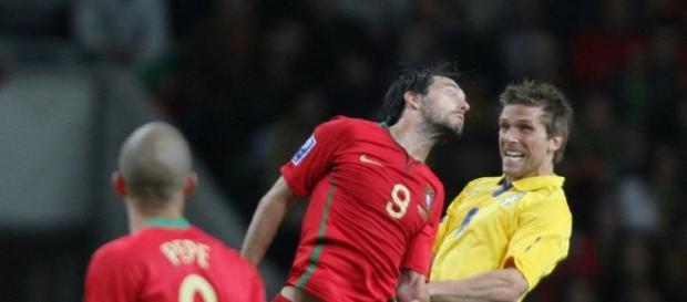 No último confronto, Portugal venceu a Suécia por 3-2