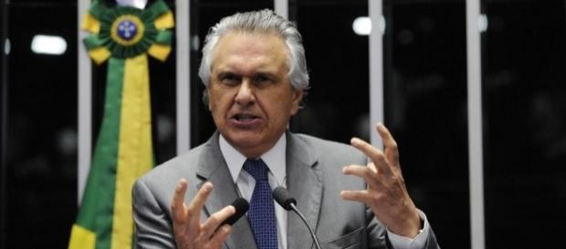 Senador Ronaldo Caiado, líder do DEM na Casa