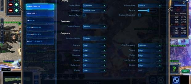 StarCraft II Settings/ Photo via Gabriele Barni, Flickr