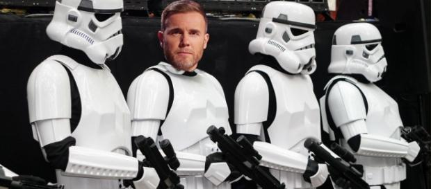 Take That, Luke! Gary Barlow to make unlikely appearance in Star Wars Episode VIII. Source - metro.co.uk