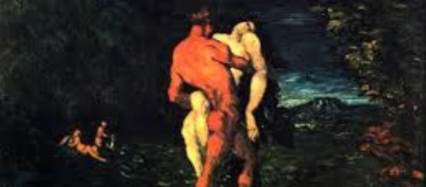 """""""The Abduction"""" by Paul Cezanne (Wikimedia Commons)"""