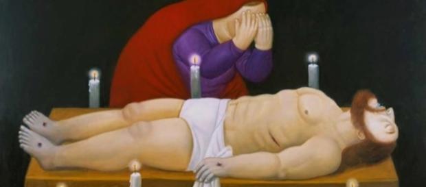 Viacrucis, la pasión de Cristo del artista colombiano Fernando Botero