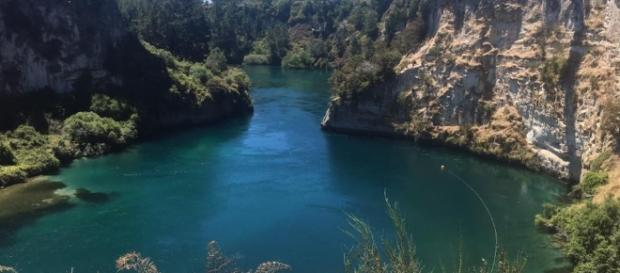 Waikato River, near Lake Taupo