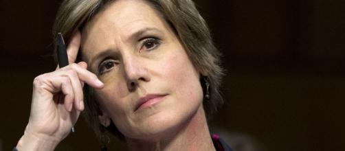 "Acting Attorney General Sally Yates, fired by Trump for ""insubordination"" / Photo by Politico via Blasting News library"