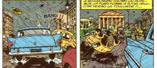 Automobili fiammanti in letteratura pop