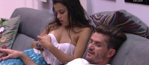 BBB17: Marcos e Emilly tem nova DR na casa