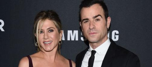 Is Justin Theroux not ready for Brad Pitt and Jennifer Aniston's new friendship? (via Blasting News library)