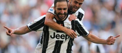Juve-Sassuolo 3-1: Higuain doppietta