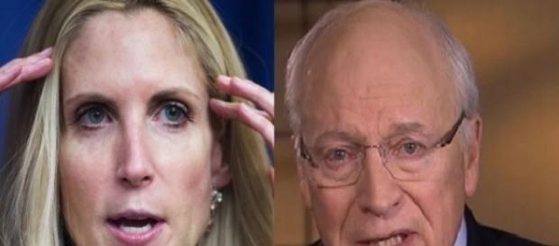Ann Coulter, Dick Cheney, via Twitter