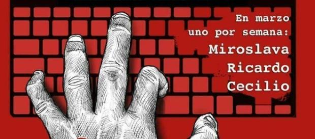 Convocatoria manifestación No más periodistas asesinados Tijuana.