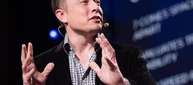 Elon Musk, ideatore del nuovo progetto tecnologico.